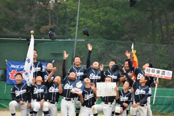 第18回センタースポーツ旗争奪リトルリーグ野球大会 優勝!!